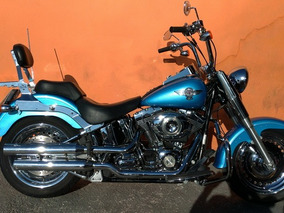 Harley-davidson Softail Fat Boy 2011 - Azul