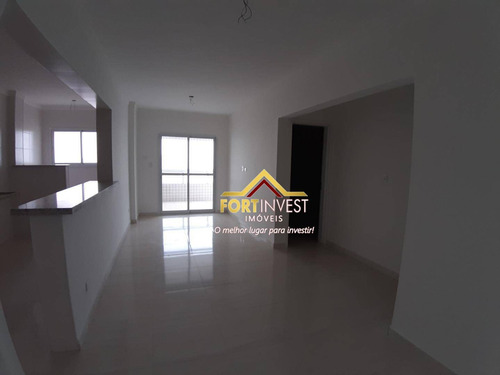 Apartamento Com 1 Dormitório À Venda, 63 M² Por R$ 276.000 - Aviação - Praia Grande/sp - Ap0568