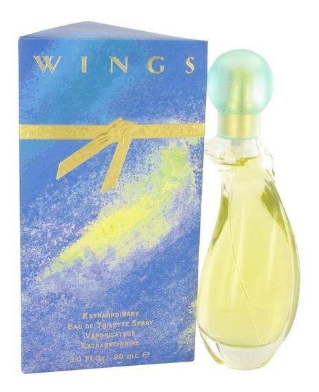 Perfume Giorgio Beverly Hills Wings Feminino 90ml Edt - Novo