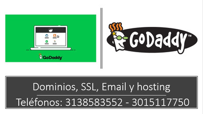 Dominio + Email De Godaddy! Consulta: Hosting, Ssl, Web, Etc