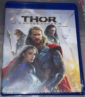 Blu-ray Thor - O Mundo Sombrio - Usado