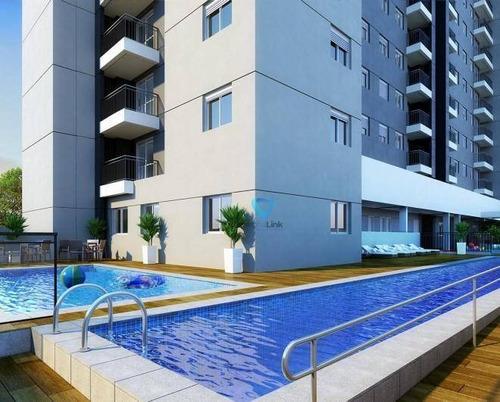 Imagem 1 de 22 de Apartamento Com 1 Dormitório À Venda, 42 M² Por R$ 240.000,00 - Jardim Tupanci - Barueri/sp - Ap2265