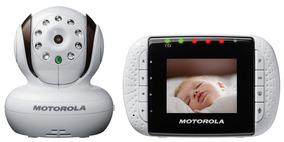 Baba Eletronica Video Monitor Motorola Mbp33- Infra Vermelho
