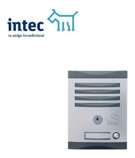 Frente De Calle 1 Boton Para Interfon Intec Ink-1