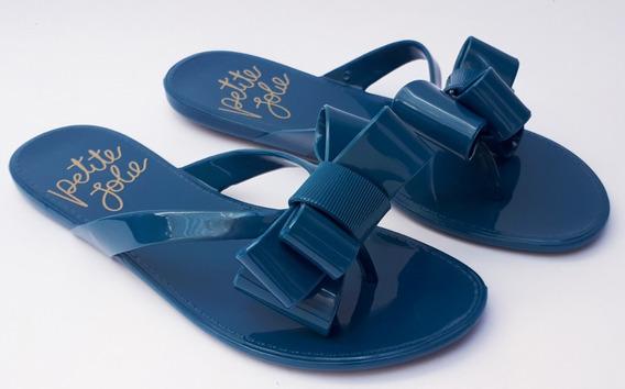 Chinelo Petite Jolie J Lastic Deep Ocean Azul