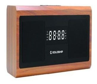 Radio Relogio Fm Retro 20w Bluetooth Usb Auxiliar P2 Leaders