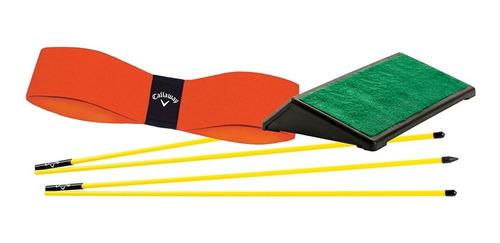 Entrenamiento Golf Alineación Swing Y Plataforma Callaway 3