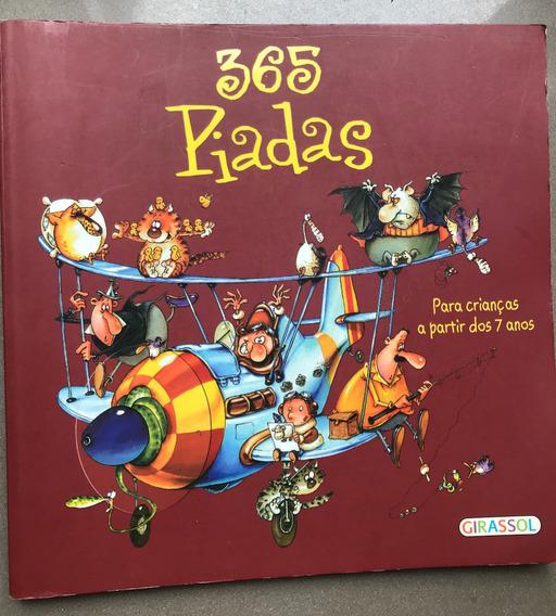 Livro 365 Piadas Para Crianças A Partir De 7 Anos