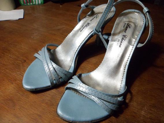 Sandalias Super Elegantes Como Nuevas!!!