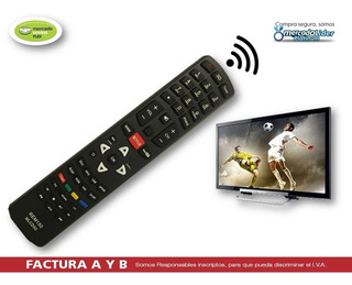 Control Remoto Smart 3d Tcl Hitachi Jvc Sanyo Philco Noblex