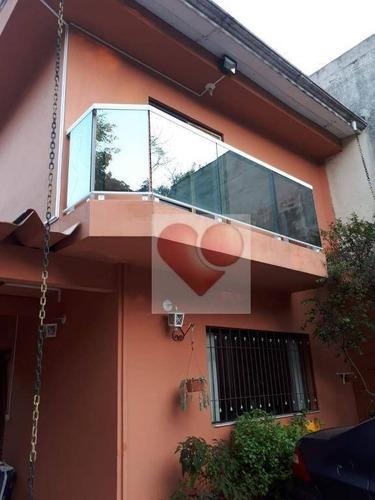 Sobrado À Venda, 90 M² Por R$ 900.000,00 - Vila Monte Alegre - São Paulo/sp - So0296