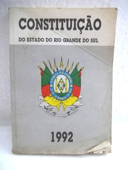 Constituição Estado Rio Grande Do Sul 1992 Livro
