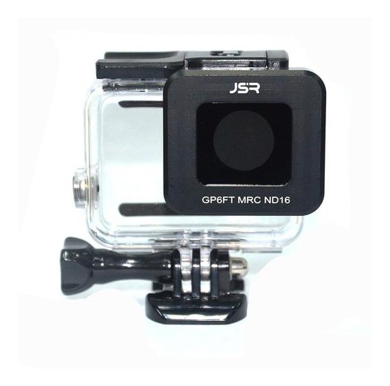 Jsr Nd16 Lente Filtro Cobertura Para Gopro 6 5 Esporte Câmer