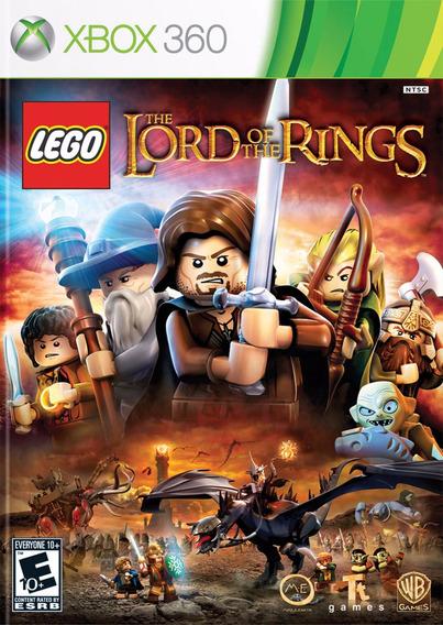 Lego Lord Of The Rings Senhor Dos Aneis Xbox360 Mídia Física