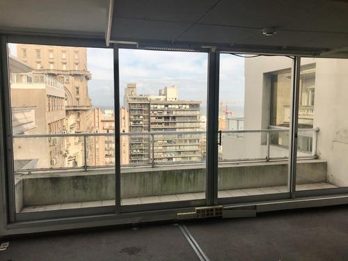 Alquiler Oficina Centro Plaza Independencia Piso Alto Gran Espacio
