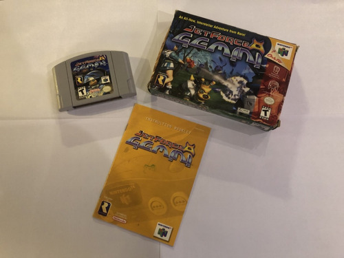 Jetforce Gemini Nintendo 64 En Caja Con Manual
