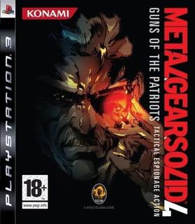 Metal Gear Solid 4 Guns Of The Patriots Ps3 Original