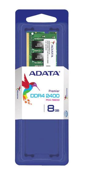 Memoria Sodimm Adata 8gb Ddr4 2400mhz Para Notebook Ctas