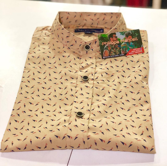 Camisas Hombre Elegante Philippe Marcell Moda 2019