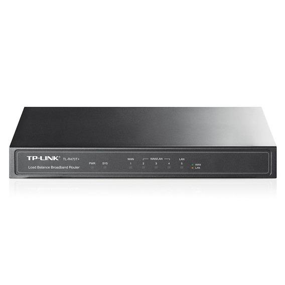 Roteador Broadband Tp-link Tl-r470t+ Load Balance 1 Porta