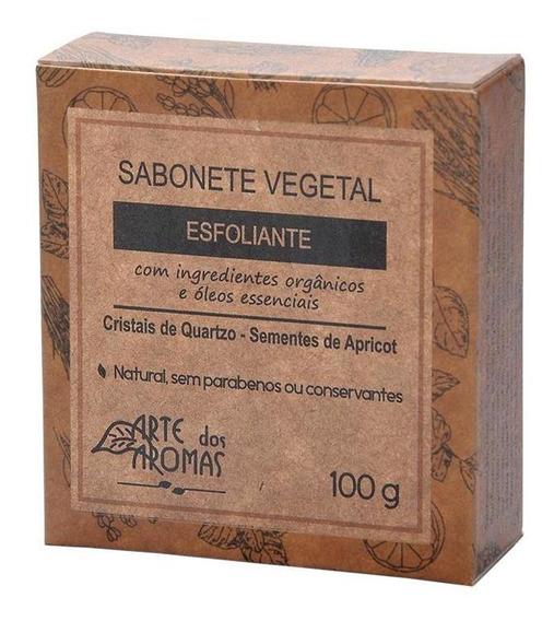 Sabonete Vegetal - Esfoliante - 100g - Sem Parabenos