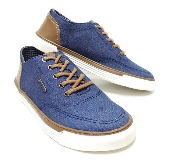 Tênis West Coast Malibu Masculino Jeans Azul