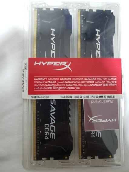 Memória Hyperx Savage 16 Gb Ddr4 3000mhz