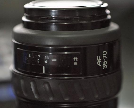 Minolta Af Zoom 35-70mm 1:3.5 ( 22 ) - 4.5 A-mount