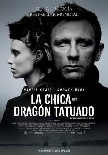 Poster Original Cine La Chica Del Dragón Tatuado