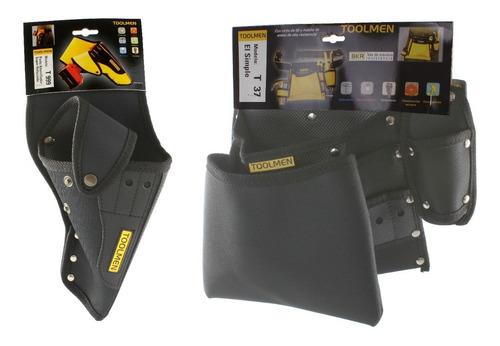 Cinturon Portaherramienta Taladro Toolmen T999 + Durlero T37