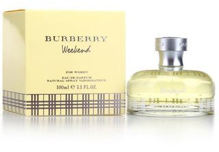 Perfume Burberry Weekend Original Dama - L a $1380