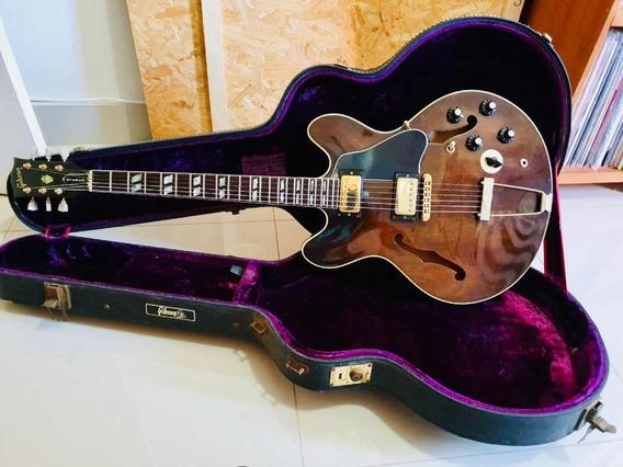 Gibson Es 345 Walnut Stereo 1976 Com Varitone Usa Guitarra