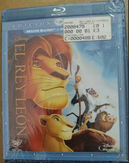 Rey León Blu Ray Original Edición Especial Dos Discos