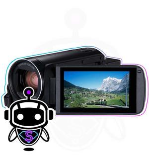 Filmadora Canon Vixia Hf R800 Full Hd + Maleta Tripode 128gb