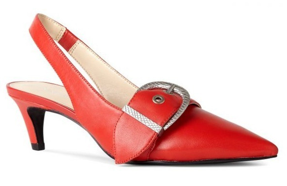 Zapatos Rojos Nine West Talle 8.5 Us