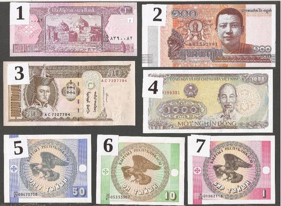 Tres Billetes Nuevos Sin Circular A Elección