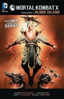Mortal Kombat X Vol. 3 - Shawn Kittelsen (paperback)