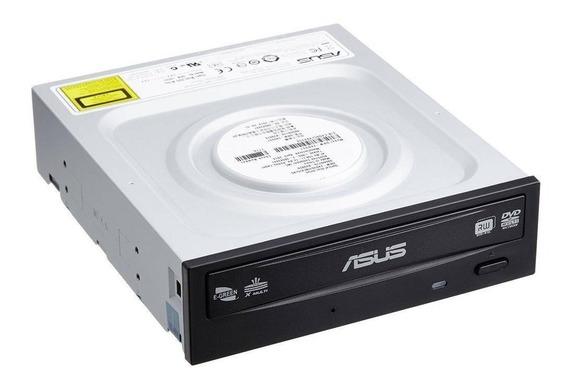 Gravador Dvd Sata 24x Drw24f1mt Asus Preto Com Logo