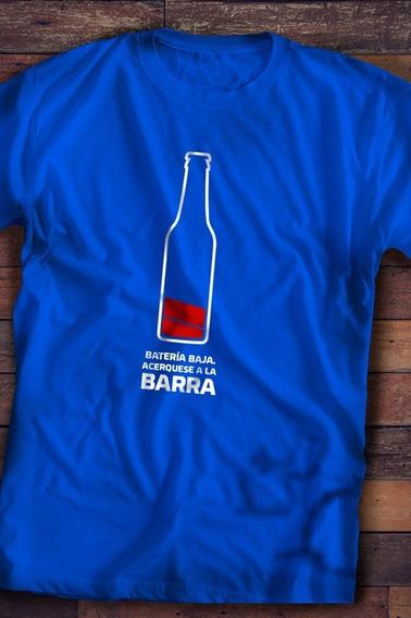 Playera Para Caballero Batería Baja
