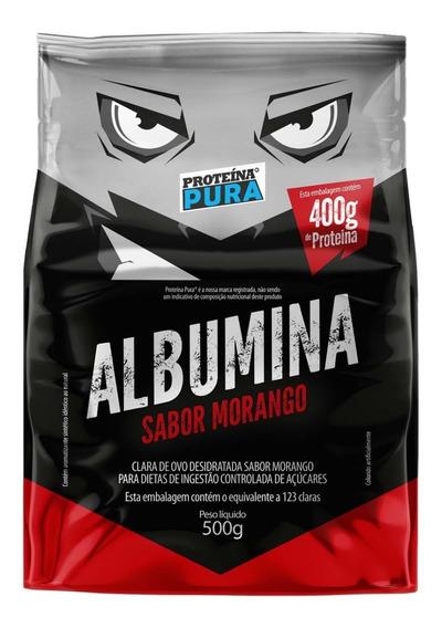Albumina 100% Natural - 500g - Proteína Pura