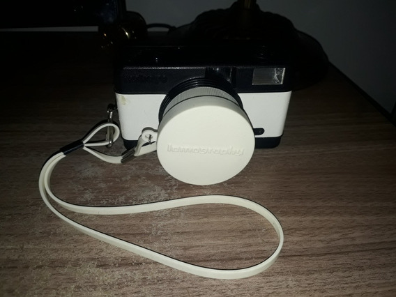 Máquina Fotográfica Filme Lomography Fisheie Branca Preta