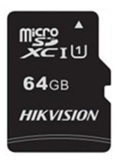 Cartão Memória Micro Sd Hikvision 64gb Class 10 Hs-tf-c1