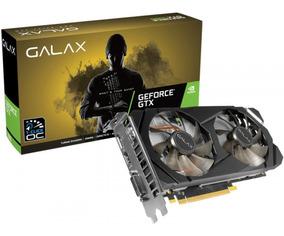 Placa De Vídeo Galax Geforce Gtx 1660 6gb 1 Click Oc