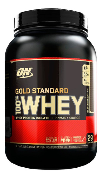 100% Whey Protein 2lb Gold Standard