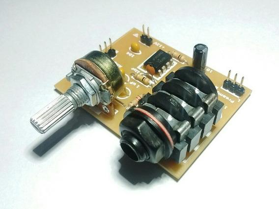 Modulo Preamplificador Audio Para Micrófono O Guitarra 12v