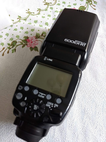 Flash Canon 600 Ex Rt