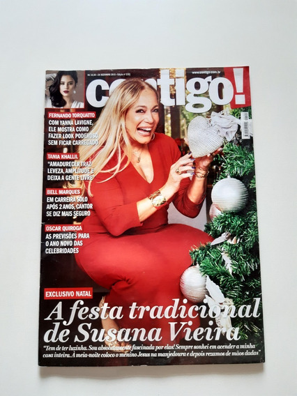 Revista Contigo Susana Vieira Tania Khallil Bell C975