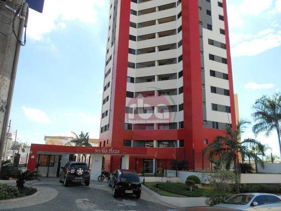 Apartamento Com 3 Dormitórios Para Alugar, 87 M² Por R$ 1.200,00/mês - Centro - Sorocaba/sp - Ap0579