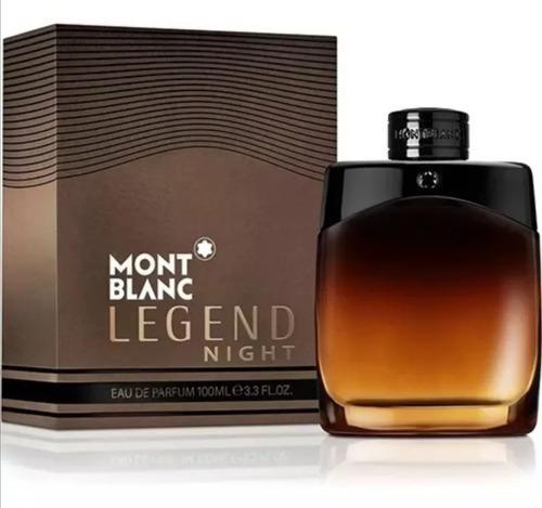 Perfume Loción Mont Blanc Legend Nigh - L a $1190