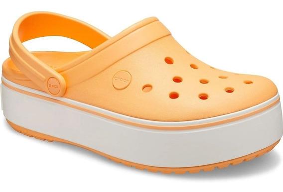 Crocs Originales Crocband Platform Varios Colores Asfl70